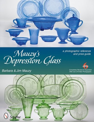 9780764332753: Mauzy's Depression Glass: A Photographic Reference with Prices