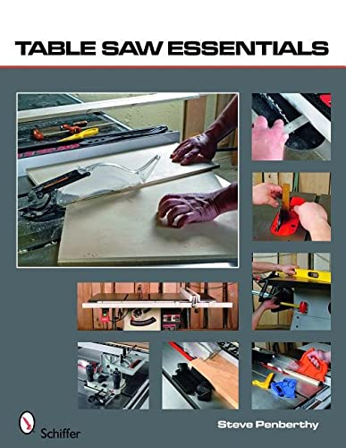 9780764333248: Table Saw Essentials