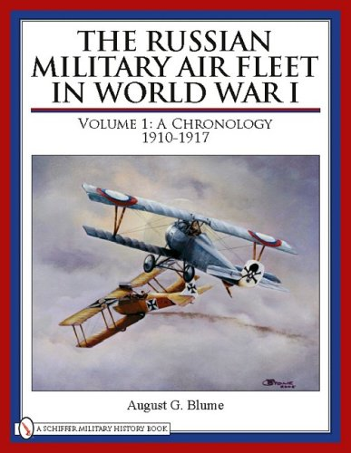 9780764333514: The Russian Military Air Fleet in World War I
