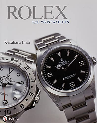 Rolex: 3,621 Wristwatches: Imai, Kesaharu