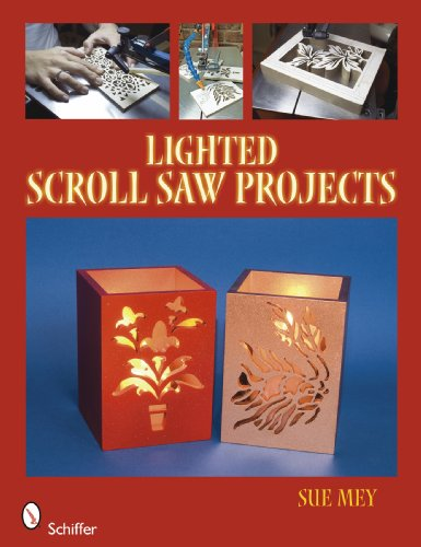 9780764333866: Lighted Scroll Saw Projects