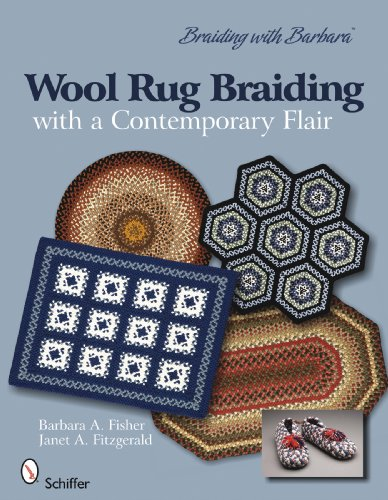 9780764334580: Braiding with Barbara*TM /Wool Rug Braiding with a contemporary flair