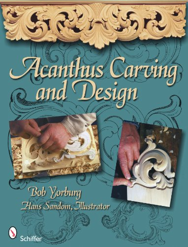 9780764335068: Acanthus Carving and Design