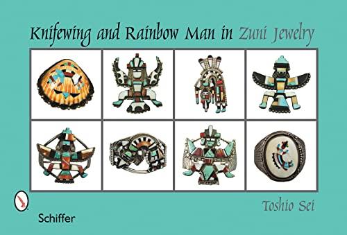 Knifewing & Rainbow Man in Zuni Jewelry: Toshio Sei