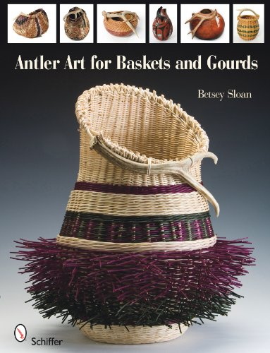 9780764336157: Antler Art for Baskets and Gourds