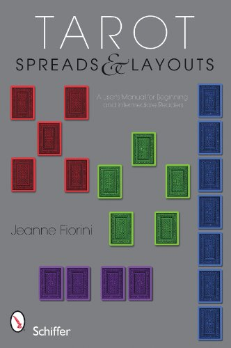 9780764336294: Tarot Spreads and Layouts A User's Manual For Beginning and Intermediate Readers