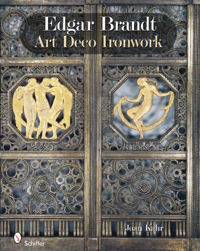 9780764336669: Edgar Brandt: Art Deco Ironwork