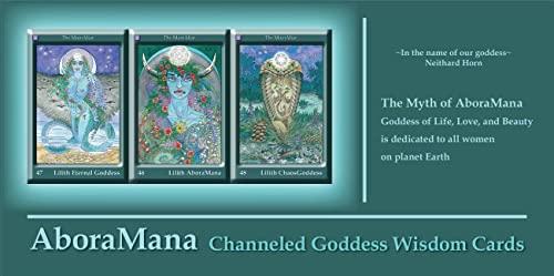 9780764336966: Aboramana Channeled Goddess Wisdom Cards