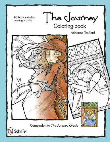9780764337840: The Journey Coloring Book
