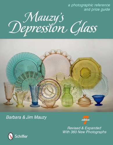 Mauzy's Depression Glass: A Photographic Reference and Price Guide: Barbara Mauzy