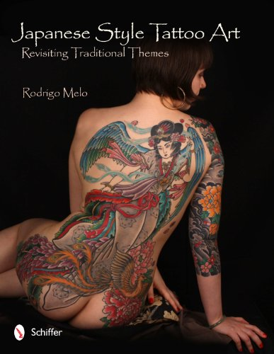 Japanese Style Tattoo Art: Revisiting Traditional Themes (Hardcover): Rodrigo Melo