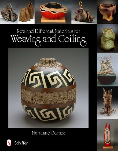 New and Different Materials for Weaving and Coiling (Paperback): Marianne Barnes