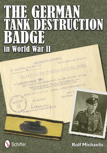 9780764340529: The German Tank Destruction Badge in World War II