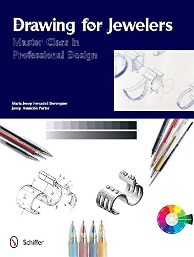 Drawing for Jewelers Master Class in Professional Design: Berenguer Maria Josep Forcadell and Josep...