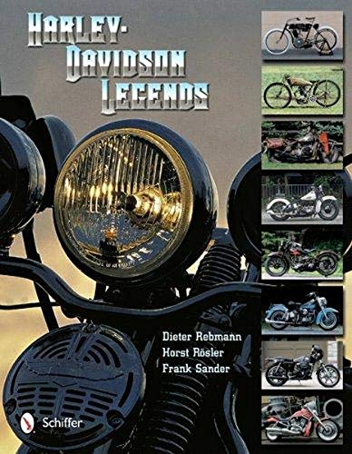 9780764340734: Harley-Davidson Legends