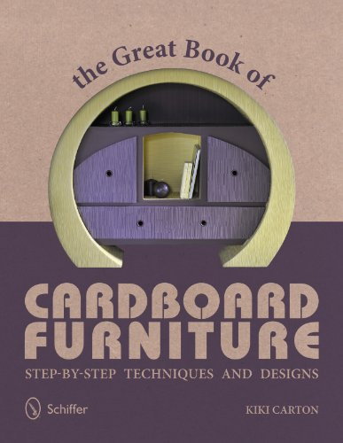 9780764341519: The Great Book of Cardboard Furniture: Step-By-Step Techniques and Designs