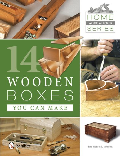 9780764342431: 14 Wooden Boxes You Can Make (Home Woodworker)