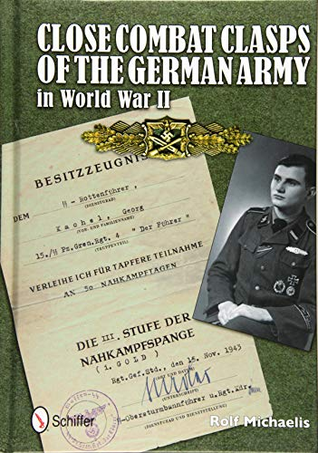 9780764342585: Close Combat Clasps of the German Army in World War II
