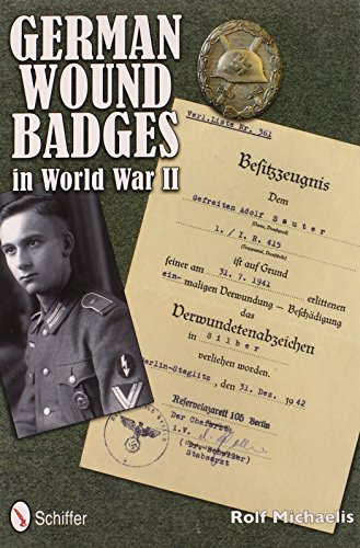 9780764342592: German Wound Badges in World War II