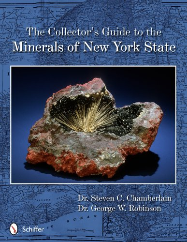 9780764343346: The Collector's Guide to the Minerals of New York State (Schiffer Earth Science Monograph)