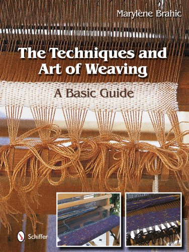 The Techniques and Art of Weaving: A Basic Guide (Hardcover): Maryl'ne Brahic