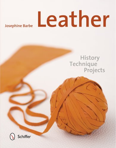 9780764344848: Leather: History, Technique, Projects