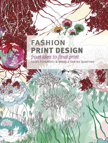 9780764345913: Fashion Print Design: From the Idea to the Final Fabric