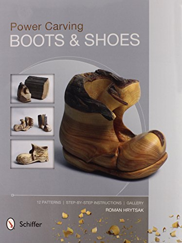 9780764346156: Power Carving Boots & Shoes