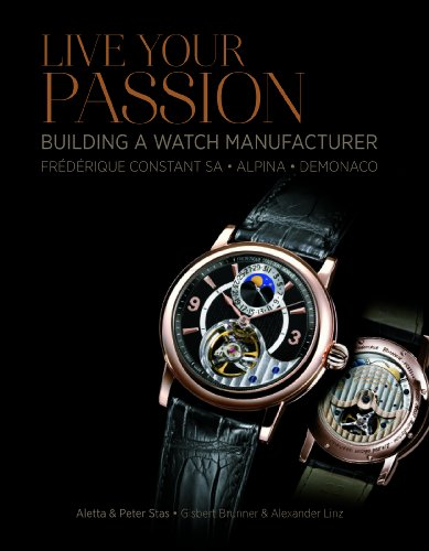 9780764346163: Live Your Passion: Building a Watch Manufacture: Frédérique Constant SA, Alpina, deMonaco