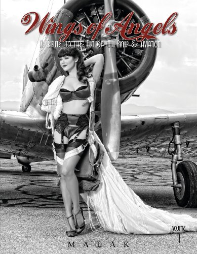 9780764346408: Wings of Angels, Volume 1: A Tribute to the Art of World War II Pinup & Aviation