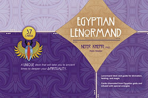 9780764347764: The Egyptian Lenormand: Divination, Healing and Magic