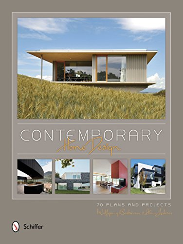 Contemporary Home Design: 70 Plans and Projects (Hardback): Wolfgang Bachmann, Arno Lederer