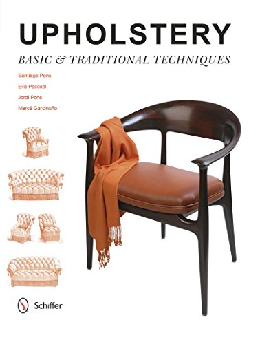 Upholstery (Hardcover): Santiago Pons