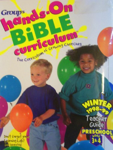 9780764401107: Group Hands-on Bible Curriculum: The Curriculum of Growing Churches: Preschool Ages 3-4
