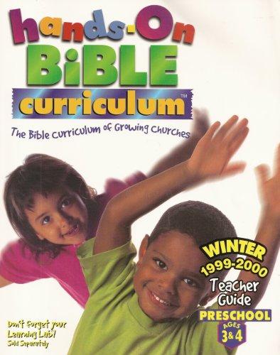 9780764401626: Hands-On Bible Curriculum: The Bible Curriculum of Growing Churches (Teacher Guide Winter 1999-2000: Preschool Ages 3-4)