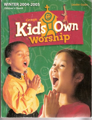 9780764417863: Group's Kids Own Worship Leader Guide, Projects-with-a-Purpose Leader Guide, Skits Booklet, VHS Tape (8 parts), Songs from FaithWeaver CD (26 tracks), Poster and Binder Full of Songs