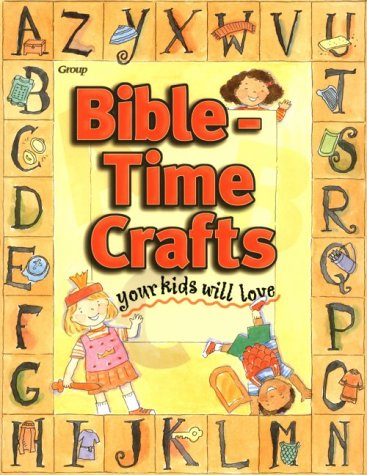 9780764420672: Bible-Time Crafts Your Kids Will Love