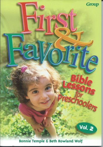 9780764420696: First & Favorite Bible Lessons for Preschoolers Vol 2