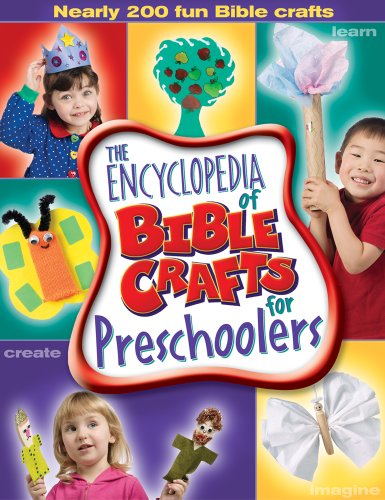 The Encyclopedia of Bible Crafts for Preschoolers (Paperback)