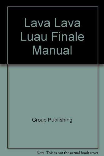 Lava Lava Luau Finale Manual