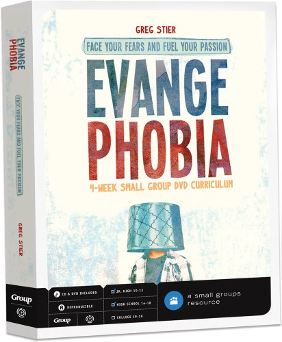 9780764466694: Evangephobia DVD Curriculum: Face Your Fears and Fuel Your Passion 4-Week Small Group Study