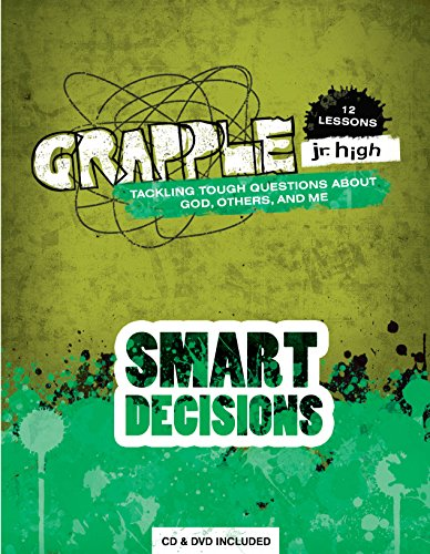 9780764475498: Grapple Jr. High: Smart Decisions: 12 Lessons on Tackling Tough Questions About God, Others, and Me