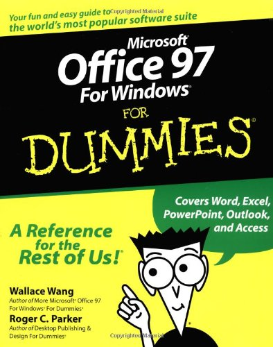 9780764500503: Microsoft Office 97 For Windows For Dummies