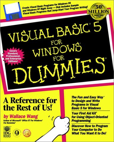 9780764501227: Visual Basic? 5 For Windows? For Dummies? (For Dummies (Computers))
