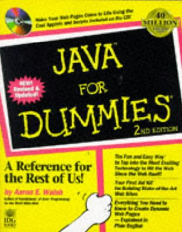 9780764501401: Java For Dummies