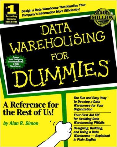 9780764501708: Data Warehousing for Dummies (For Dummies (Computers))