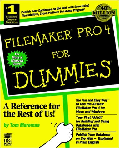 9780764502101: Filemaker Pro 4 for Dummies