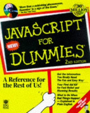 9780764502231: JavaScript for Dummies, 2nd Edition