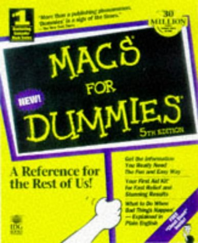 9780764502255: Macs for Dummies (5th ed)