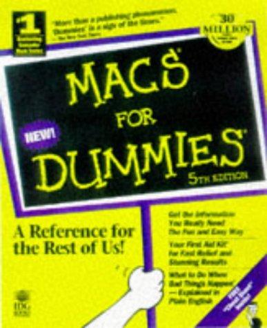 9780764502255: Macs for Dummies (5th ed)